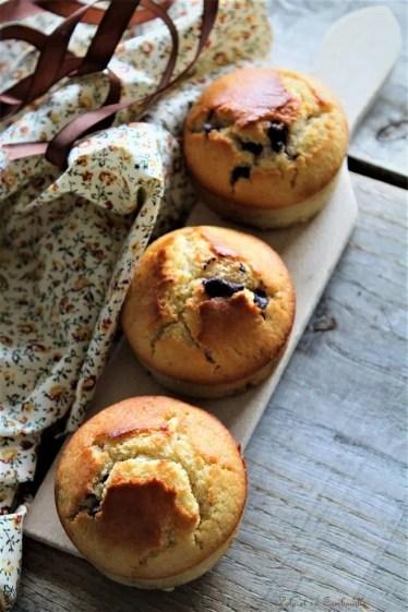 Muffins aux pépites de chocolat (3)