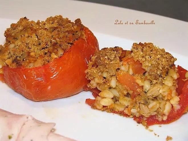 Tomates Farcies Au Thon Amp 224 L 233 Bly Lolo Et Sa Tambouille