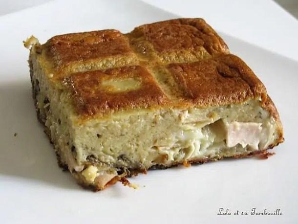 Quiche sans pâte à l'aubergine, chèvre & sauce Saclà