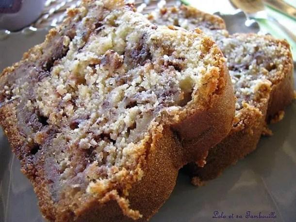 Cake à la banane & au toblérone
