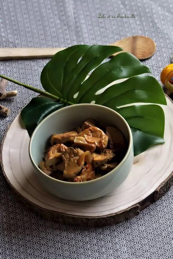 Filet mignon au curry