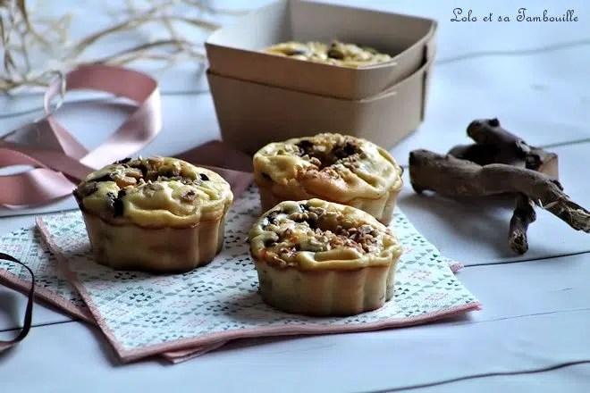 Moelleux au fromage blanc & pépites de chocolat