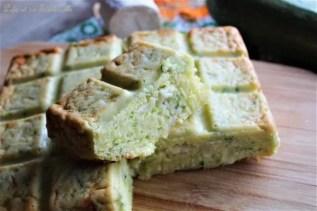 Cake aux courgettes & chèvre (3)