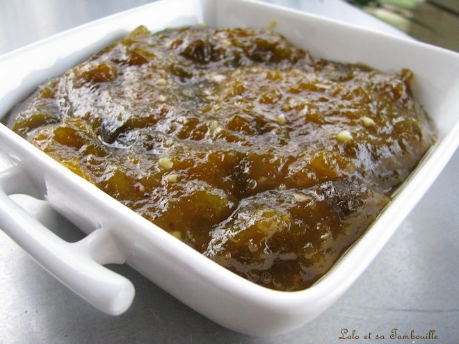 Compotée de prunes