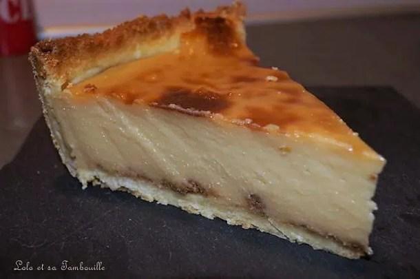 Flan pâtissier à la crème de caramel au beurre salé & spéculoos
