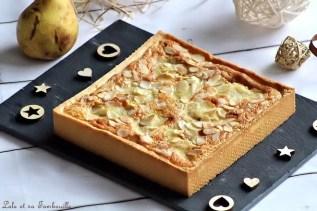 Tarte amandine aux poires (2)