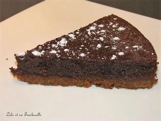 Fondant au chocolat & spéculoos