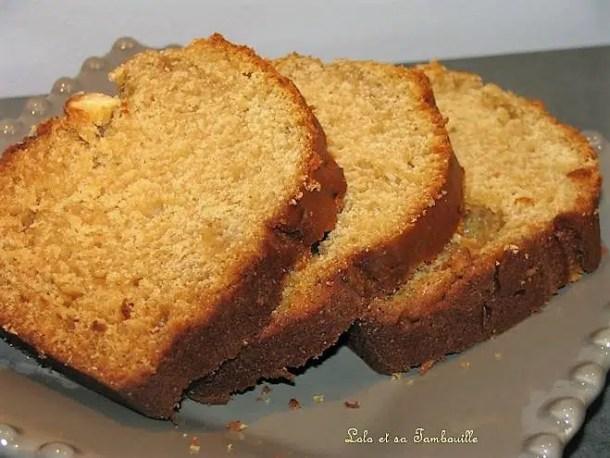 Cake à la ricotta, pâte de spéculoos & chocolat blanc