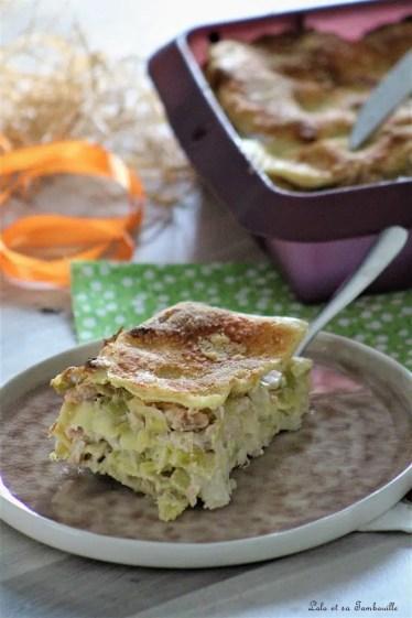 Lasagnes aux poireaux & saumon (6)