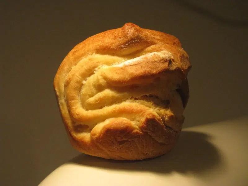 Petits pains briochés