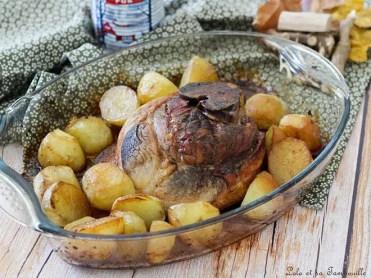 Rouelle de porc au sirop d'érable (5)