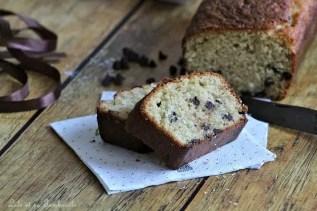 Cake à la noix de coco & pépites de chocolat (1)