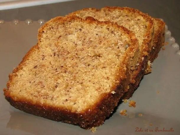 Cake à la poudre de spéculoos & amandes