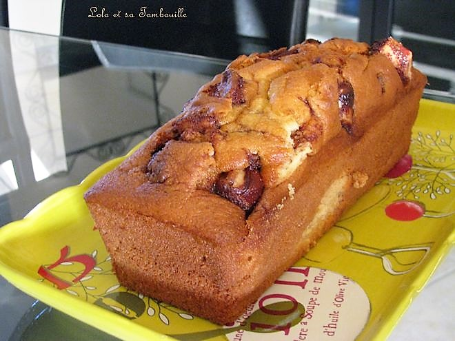 Cake aux Kinder Bueno