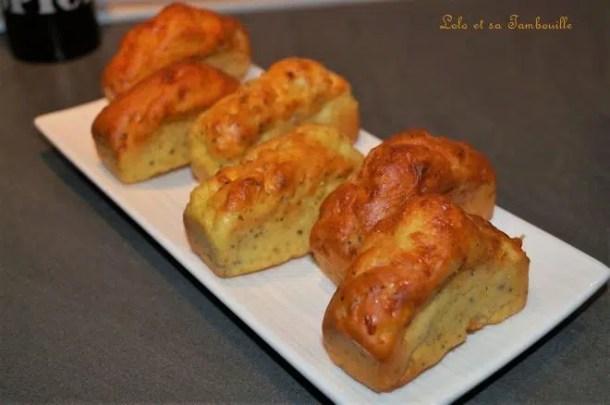 Mini cakes au fromage blanc & beaume du planteur