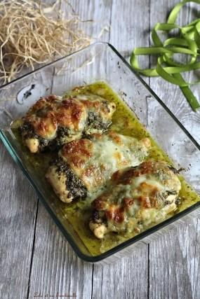 Poulet au pesto & mozzarella (2)