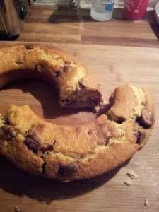 cake au kinder bueno Magalie