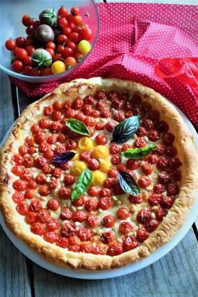 Tarte fine aux tomates cerises (3)