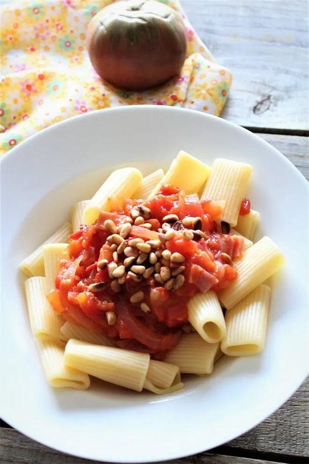 Compotée de tomates au miel & bacon