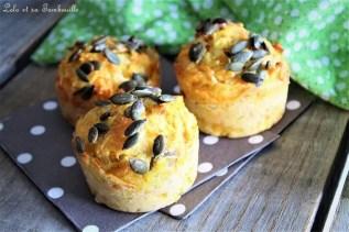 Muffins aux caottes, épices & sonss (3)