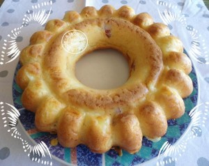 cake à la mozzarella et bacon remplacé par du lomo natt