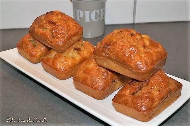 Cakes au magret de canard & tomates séchées