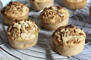 Muffins aux pommes & noisettes (5)