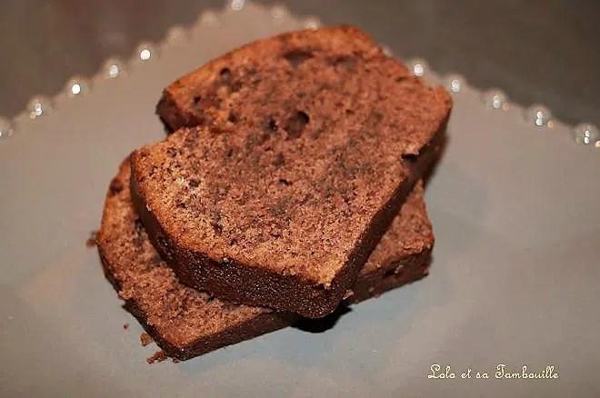 Quatre-quart au chocolat
