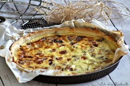 Quiche au roquefort & noix (2)