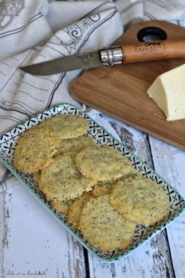 Sablés au cantal & graines de pavot (3)