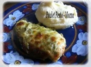 poulet pesto et mozza cactus et tartine