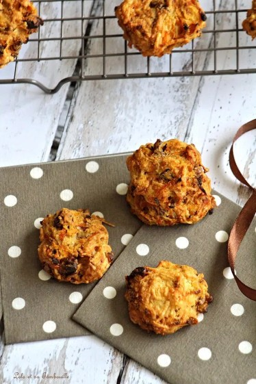 Cookie aux carottes & aux noix (6)