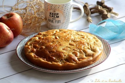 Moelleux aux pommes & rhum (2)