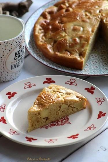 Moelleux aux pommes & rhum (4)