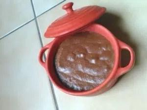 mousse au chocolat sandra