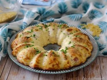 Clafoutis de pâtes au jambon & emmental (2)