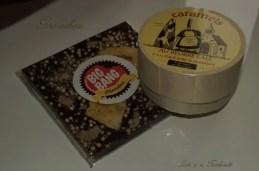Tablette de chocolat et caramels au beurre salé