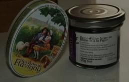 Pulpe d'olive noire, rhum et figues