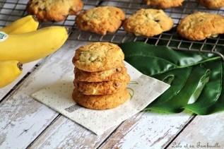 Cookies à la banane & chocolat (2)