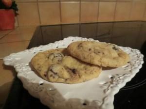 cookies à la banane et pépites de chocolat Fanfan