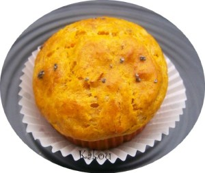 muffins potiron lardons