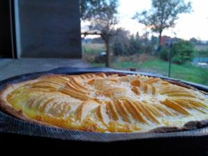 tarte aux pommes & caramels beurre salé Sylvie