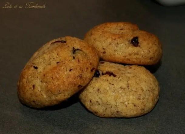 Biscuits aux noisettes & mix superfruits