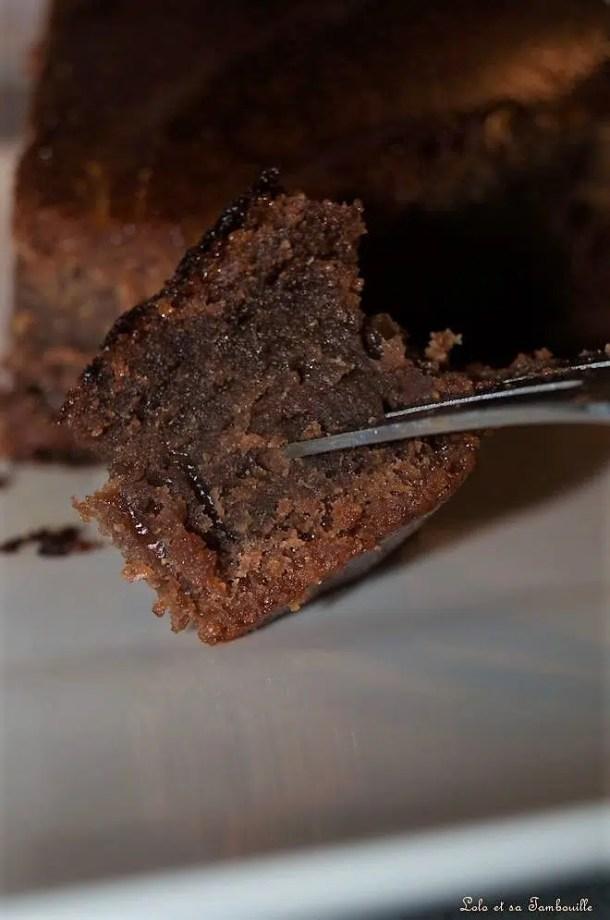 Moelleux au chocolat & lait ribot