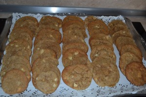 cookies pralin et chocolat blanc sandrine facebook