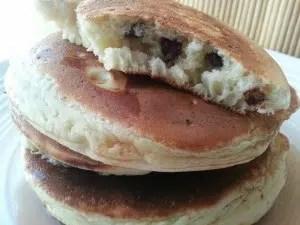 pancakes aux pépites de chocolat Nadia