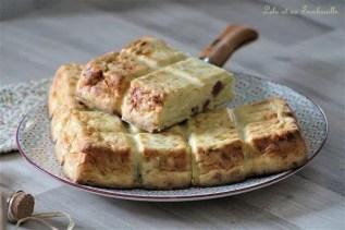 Clafoutis de poireaux & lardons (1)