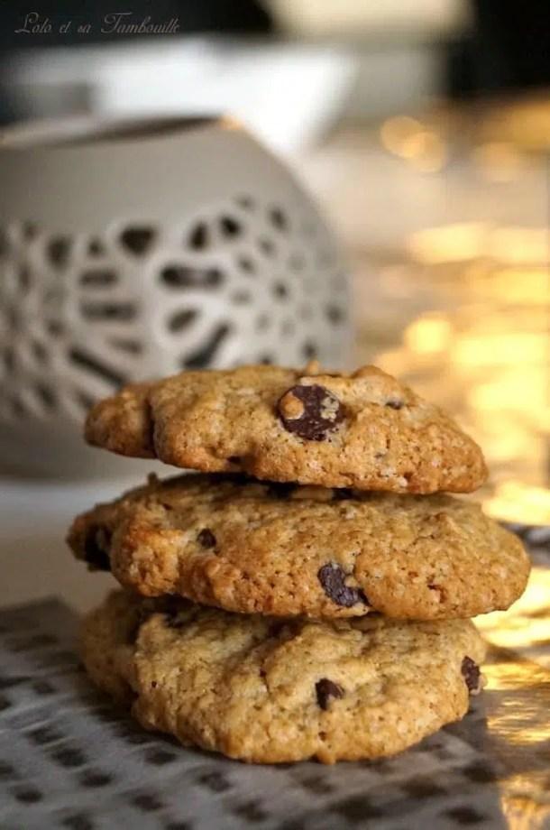 Cookies au son d'avoine & pépites de chocolat