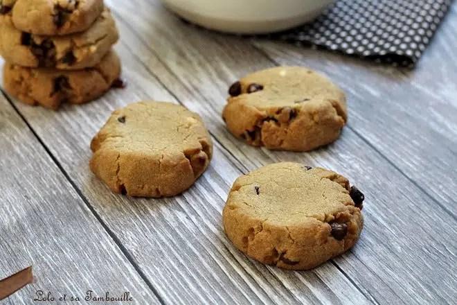 Cookies à la pâte de spéculoos & pépites de chocolat