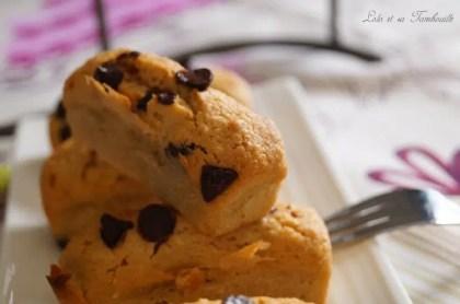 Douceurs au beurre de cachuètes & pépites de chocolat {comme des financiers} (8)